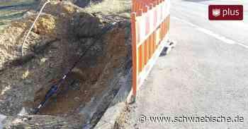 Keine Baustelle der Telekom in Westerhofen? Betroffene Stelle lag in Lauchheim - Schwäbische