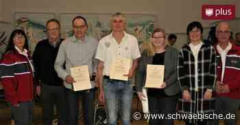 Stadt Lauchheim zeichnet Mehrfachblutspender aus - Schwäbische