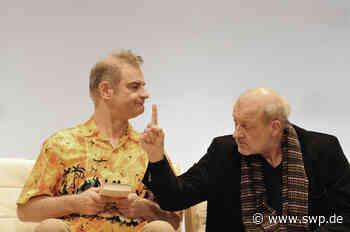 "Kulturring Neckartenzlingen: Wilsberg""-Darsteller Leonard Lansink gastiert mit ""Kunst"" in der Melchior-Halle - SWP"