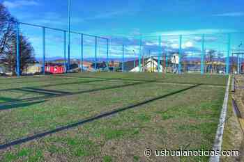 El municipio construirá un playón deportivo y una plaza en el Bº Mirador de los Andes - Ushuaia Noticias