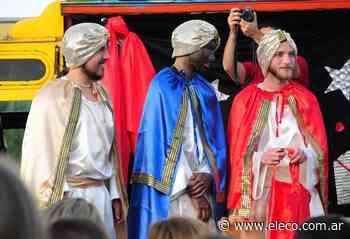 Los Reyes Magos estarán este lunes en el playón del Barrio Maggiori - El Eco de Tandil