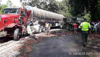 Dos heridos graves en accidente entre El Playón y Ríonegro - Caracol Radio