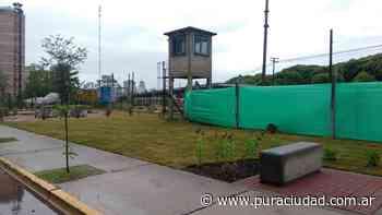 Avanza la construcción de un espacio verde en el Playón de Chacarita - Pura Ciudad