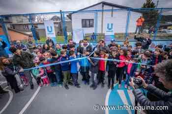 Inauguran playón deportivo en el barrio Calafate - Infofueguina