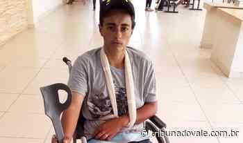 Jovem denuncia espancamento por seguranças em festa de Ibaiti - Tribuna do Vale