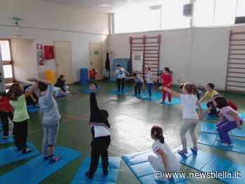 Mottalciata: I bambini della scuola primaria alla scoperta dello yoga - newsbiella.it