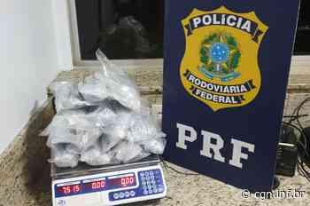 PRF apreende haxixe e ecstasy em Santa Terezinha de Itaipu - CGN