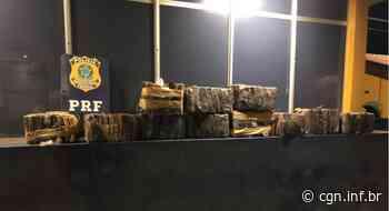 PRF apreende 207 quilos de maconha em Santa Terezinha de Itaipu - CGN