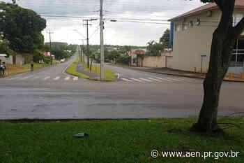 Começa construção de trincheira em Santa Terezinha de Itaipu - Agência Estadual de Notícias do Estado do Paraná