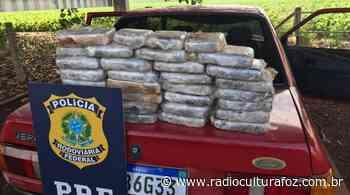 PRF apreende 30 quilos de crack em Santa Terezinha de Itaipu - Rádio Cultura Foz
