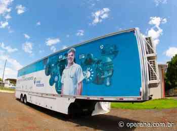 Carreta do Conhecimento chega a Santa Terezinha de Itaipu - O Paraná