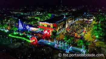 Santa Terezinha de Itaipu surpreende ao abrir o Encanto de Natal - ® Portal da Cidade | Foz do Iguaçu