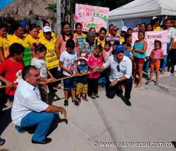 Prosperidad Social entregó vías en Sampués y Colosó con inversión de más de $3 mil millones - El Universal - Colombia