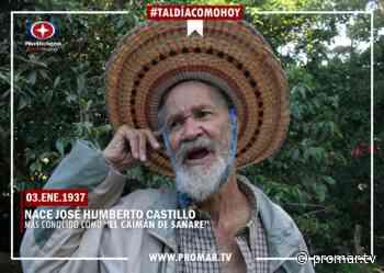 #TalDíaComoHoy : Nace «El Caimán de Sanare» - Noticias de Barquisimeto - PromarTV - PromarTV