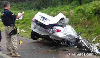 Jovem grávida de sete meses morre em grave acidente na BR-373 em Imbituva, no Paraná - 24Horas