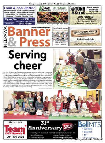 Friday, January 3, 2020 Neepawa Banner & Press - myWestman.ca
