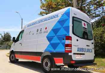 Aiguá recibe ambulancia para traslados especializados donada por gobierno japonés - maldonadonoticias.com