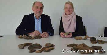 2000 Jahre alte Keramikscherben in Leeste entdeckt - WESER-KURIER