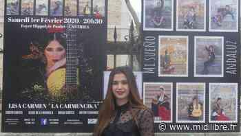 """Lisa Carmen présente son premier spectacle à Castries : """"Mi sueño andaluz"""" - Midi Libre"""