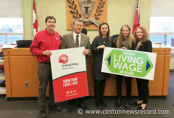 Huron County certified as third living wage municipality employer in Ontario - Clinton News Record