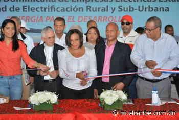 UERS entrega obra de redes eléctricas en bohechío, San Juan - Periódico El Caribe - Mereces verdaderas respuestas - El Caribe