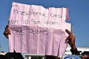 Sufrieron represión y se fueron sin pito y sin flauta: los productores de Vallejuelo no pudieron ver al Presidente - Acento
