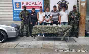 Capturan presuntos extorsionistas en Roldanillo - El País – Cali