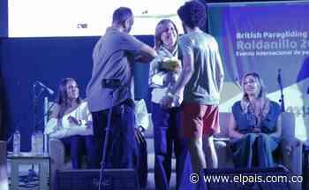 Clara Luz Roldán inauguró el British Open de Parapente en Roldanillo - El País – Cali