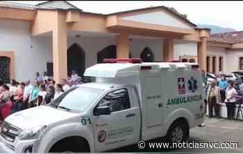 Hospital de Roldanillo estrena ambulancia - NOTICIAS NVC - Noticias NVC