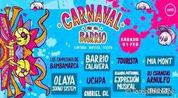 Realizarán primera edición del Carnaval en el Barrio - LaRepública.pe