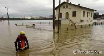 Temporal deja a 40.000 hogares sin electricidad en Francia | FOTOS - El Comercio - Perú