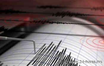 Reportan sismo de magnitud 5.5 en Cihuatlan, Jalisco - 24 HORAS