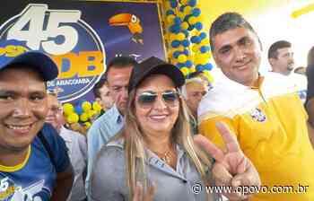 Aracoiaba terá eleição para prefeito e vice neste domingo, 1º; candidato é irmão de Safadão - O POVO