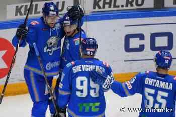 KHL: HC Barys crash HC Salavat Yulayev - Kazinform