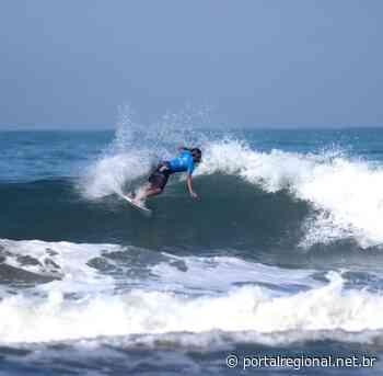 Kaio Garcia é campeão mirim em torneio de surf na praia Pitangueiras - Portal Regional Dracena