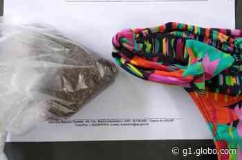 Mulher é flagrada ao tentar entrar no CDP de Capela do Alto com drogas na calcinha - G1
