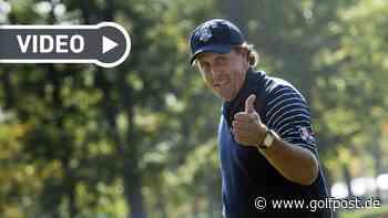 Phil Mickelson: Die besten Schläge aus zehn Jahren im Video - Golf Post