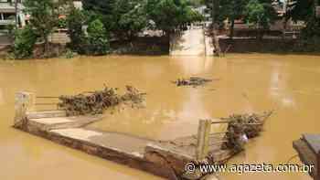 Alfredo Chaves contabiliza pelo menos 17 pontes quebradas após chuvas - A Gazeta