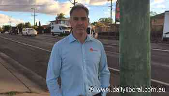 Dugald Saunders says changes for the Baird Street intersection prove he is listening - Daily Liberal
