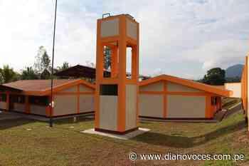 GORESAM entrega hoy 4 nuevos locales escolares del corredor Tabalosos - Diario Voces