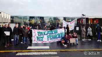Seine-et-Marne. A Tournan-en-Brie, les enseignants en grève contre les épreuves communes de contrôle continu - actu.fr