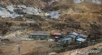 Quiruvilca dejaría de ser foco de informalidad y contaminación - El Comercio - Perú