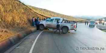 Cinco heridos tras volcadura de camioneta en Quiruvilca - La Industria.pe