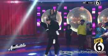 La espectacular muestra de baile de George Leyva y Uvita - Multimedios