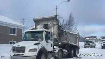 Waswanipi in the dark for several hours after truck downs wires - CBC.ca
