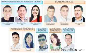 Conformado Concejo de Guachucal - HSB Noticias