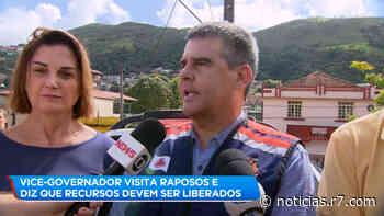 Vice-governador de MG visita Raposos e promete recursos - R7