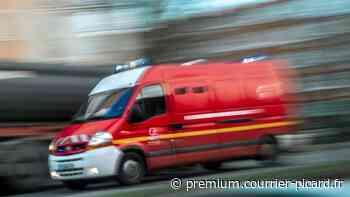 Accident matériel près de Sailly-FlibeaucourtAccident matériel près de Sailly-Flibeaucourt - Courrier picard