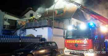 Feuer zerstört Dachgeschosswohnung in Rodenbach - Kreis-Anzeiger