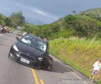 Capitão Assumção se envolve em acidente em rodovia de Ecoporanga - A Gazeta ES
